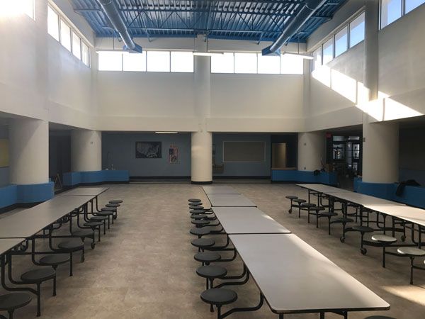 Middle School Cafeteria (After)