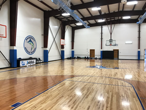 Middle School Gym (After)