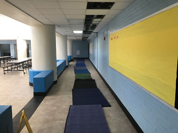 Middle School Hallway (After)