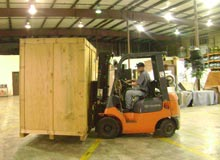 Contents/Evidence Storage - forklift